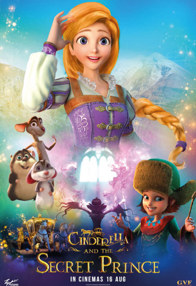 دانلود فیلم Cinderella And The Secret Prince 2018