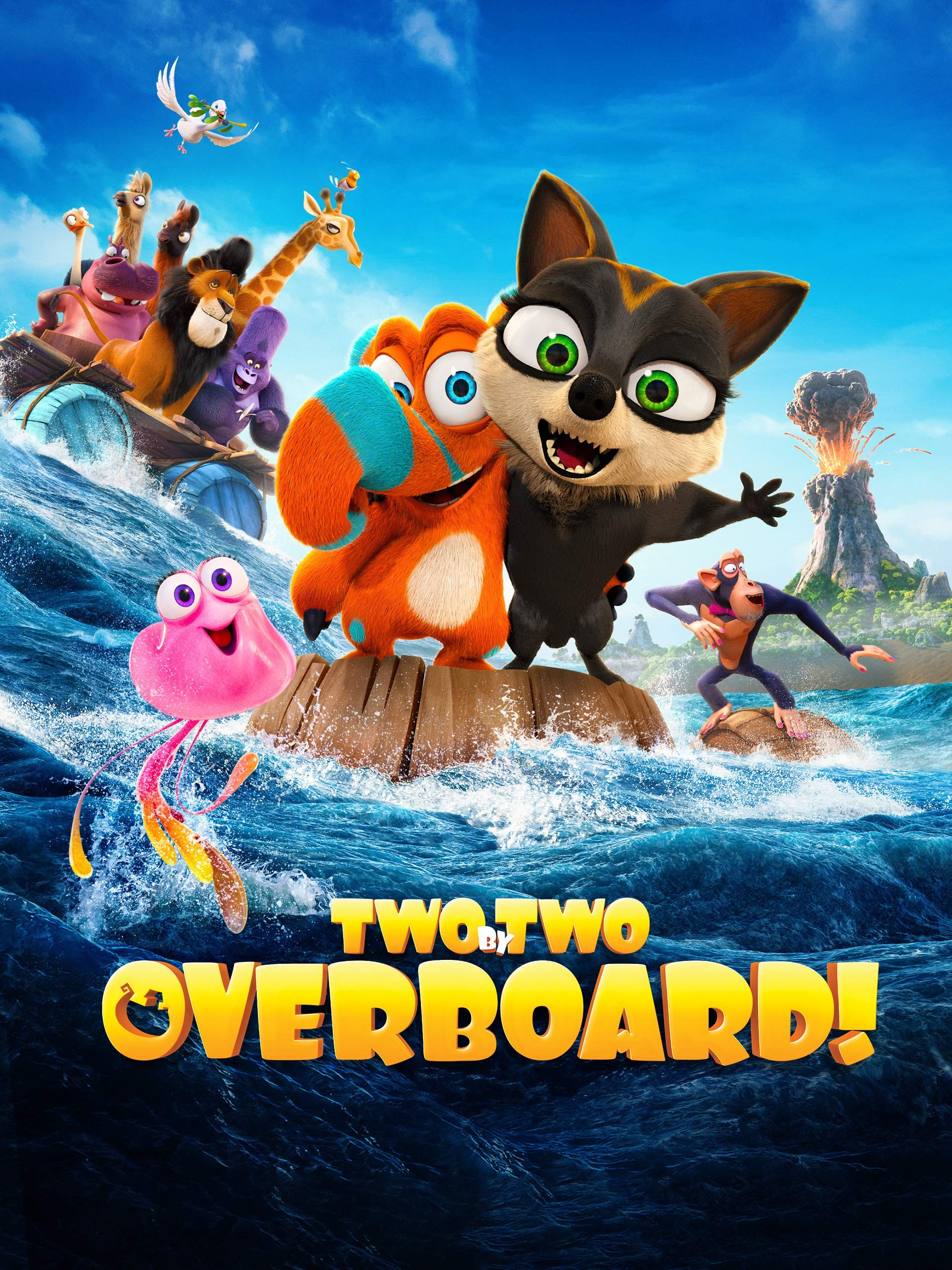 دانلود انیمیشن Two by Two: Overboard! 2020